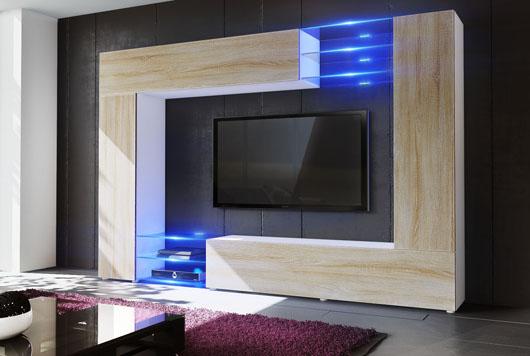 Comment faire le bon choix pour son meuble tv novomeuble for Meuble mural profondeur 20