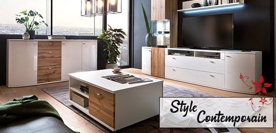 Découvrez nos meubles de style contemporain