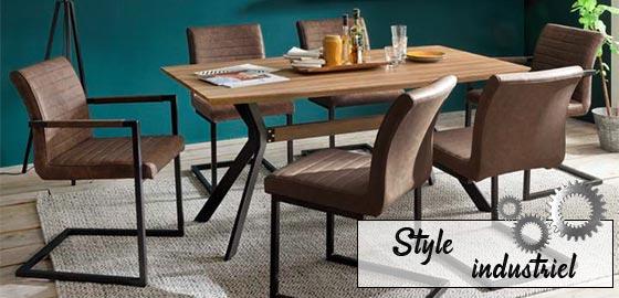 Découvrez nos meubles de style industriel