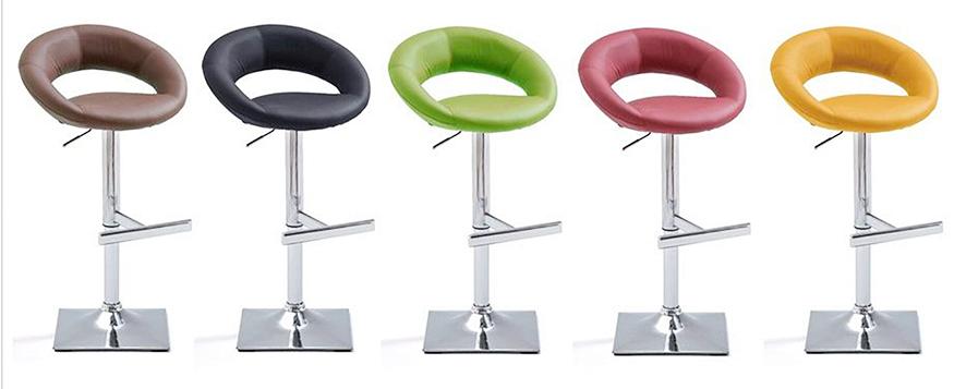 tabouret de bar design réglable hauteur