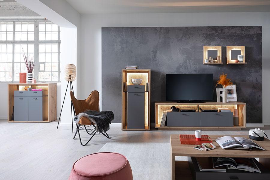 mobilier de salon design tv et rangement