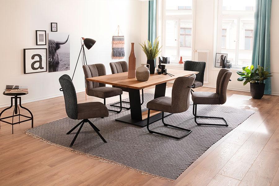 Table rectangulaire en bois design