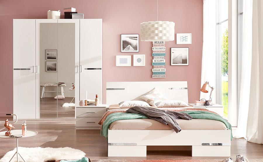 Chambre compl te adulte pas cher novomeuble for Chambre complete blanche